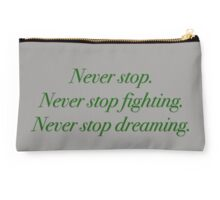 Never Stop Studio Pouch
