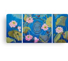 Ripple Effect. Triptych Canvas Print