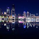 Brisbane City Lights by Peter Doré