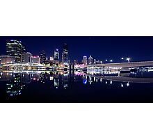 Brisbane City Lights Photographic Print