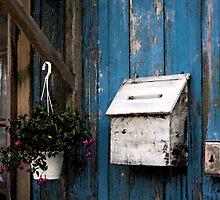 Wooden Mailbox by jasonksleung