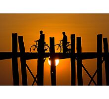 U-Bein's Bridge Photographic Print