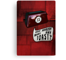 Talkie Toaster Canvas Print