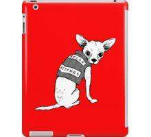 BAD dog – biker chihuahua iPad Case/Skin