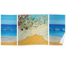 Serenity. Triptych Poster