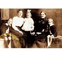 Family History Photographic Print