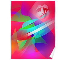 Hot Weather Cool Wind Art Poster