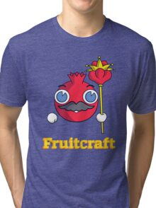 The King of Fruitcraft Tri-blend T-Shirt