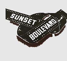 Sunset Boulevard Film Strip by wchrisbrown