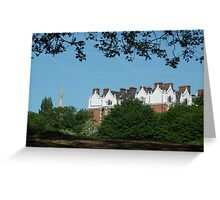 The mansions Greeting Card
