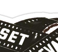 Sunset Boulevard Film Strip Sticker
