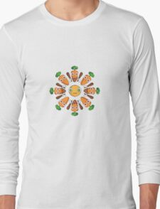 Happy Carrots Dance Long Sleeve T-Shirt