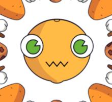 Happy Carrots Dance Sticker
