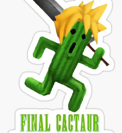Final Cactuar: The Search for Tonberry Sticker