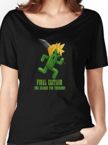 Final Cactuar: The Search for Tonberry Women's Relaxed Fit T-Shirt
