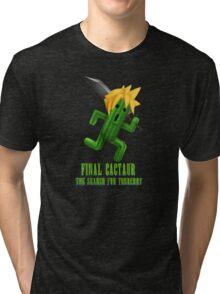 Final Cactuar: The Search for Tonberry Tri-blend T-Shirt