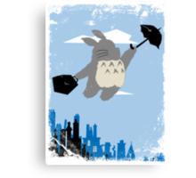 Totoro Poppins Canvas Print