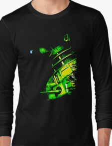 Dalek Beta – Green Long Sleeve T-Shirt