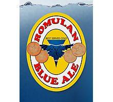 Romulan Blue Ale Photographic Print