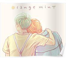 Orange Mint Yoonmin Poster