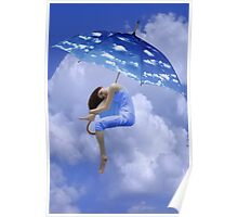 ☁ ☂ UP IN THE CLOUDS -PLZ VIEW POEM  I HAVE JUST WRITTEN HUGS ☁ ☂ Poster