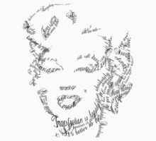 Marilyn made of quotes  by Em-monsey