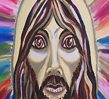Jesus Christ by Suzanne Marie Leclair by LeclairArt