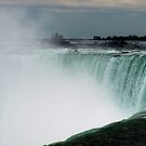 Misty Niagara Falls   by Barry W  King