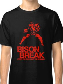 BISON BREAK - red edition Classic T-Shirt
