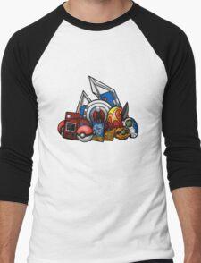 Anime Device Men's Baseball ¾ T-Shirt