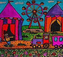 The Circus Is Coming To Town by Monica Engeler