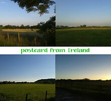 postcard or greeting card from Ireland by J C