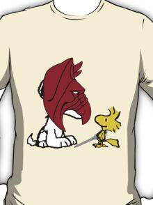 Battle Snoopy and He-Bird T-Shirt