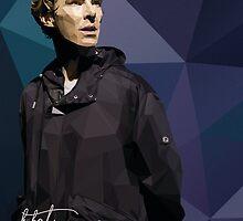 Benedict Cumberbatch as Hamlet by khitkhat