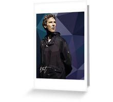 Benedict Cumberbatch as Hamlet Greeting Card