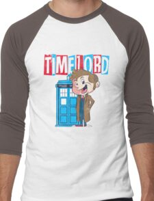 Timey Wimey trouble Men's Baseball ¾ T-Shirt