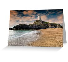 Lighthouse Beach Greeting Card