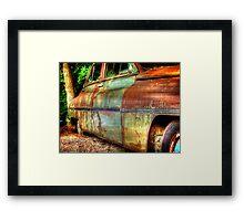 Rusty Chrysler Packard HDR Framed Print