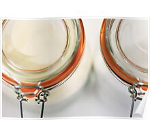 Glass Sugar Jars Poster