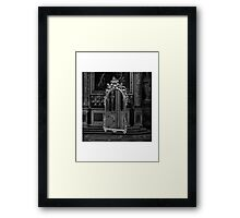 Gesaffelstein - Pursuit Framed Print