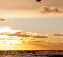 Kitesurfing to the Sun by Roger Green