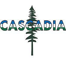 CASCADIA & The Doug Fir Photographic Print