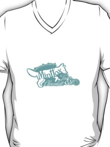 Mintfox Poster Tea and Chocolate (mint white version) T-Shirt