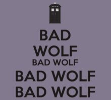 Keep calm - Bad Wolf T-shirt by salodelyma