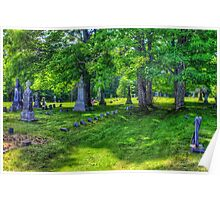 Mt. Repose Cemetery, Montville, Maine Poster