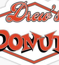 Drew's Donuts Sticker