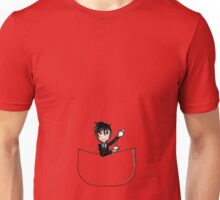 Sebastian Michaelis - pocket buddy Unisex T-Shirt