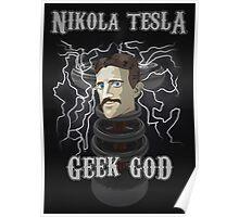 Nikola Tesla: Geek God Poster