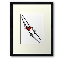 Reach for Love T-Shirt Framed Print