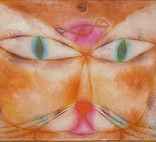 Paul Klee - Cat and Bird by William Martin